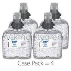 Purell 5456-04 TFX Hand Sanitizer Rub Gel ( Case of 4 Refills )