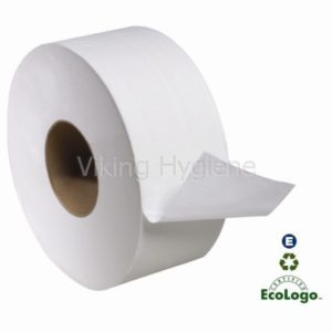 75009506 Green Source Jumbo Toilet Roll Paper – 12 Big Rolls in Case
