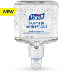Purell 6460-02 Advanced Hand Rub Gel for ES6 Dispenser ( Case of 2 Refills )