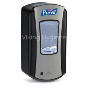 Purell 1928 LTX 12 Hand Sanitizer Dispenser Black Grey