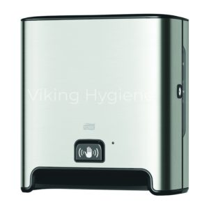 Tork 461102 Elevation Stainless Steel Automatic Paper Towel Dispenser with Sensor
