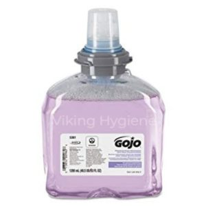 Gojo 5361-02 Premium Foam Hand Wash with Skin Conditioners for TFX Dispensers 1200 ml