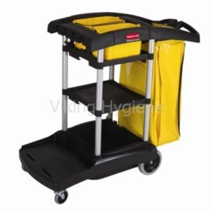 High Capacity Rubbermaid Janitor Cart – 9T72