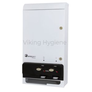 Evogen Dual Feminine Hygiene Dispenser White –  EV1-25
