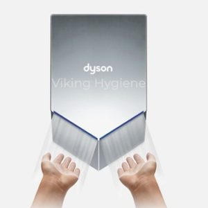 Dyson Airblade V Hand Dryer Nickel ( HU02 ) – 30 % Quieter